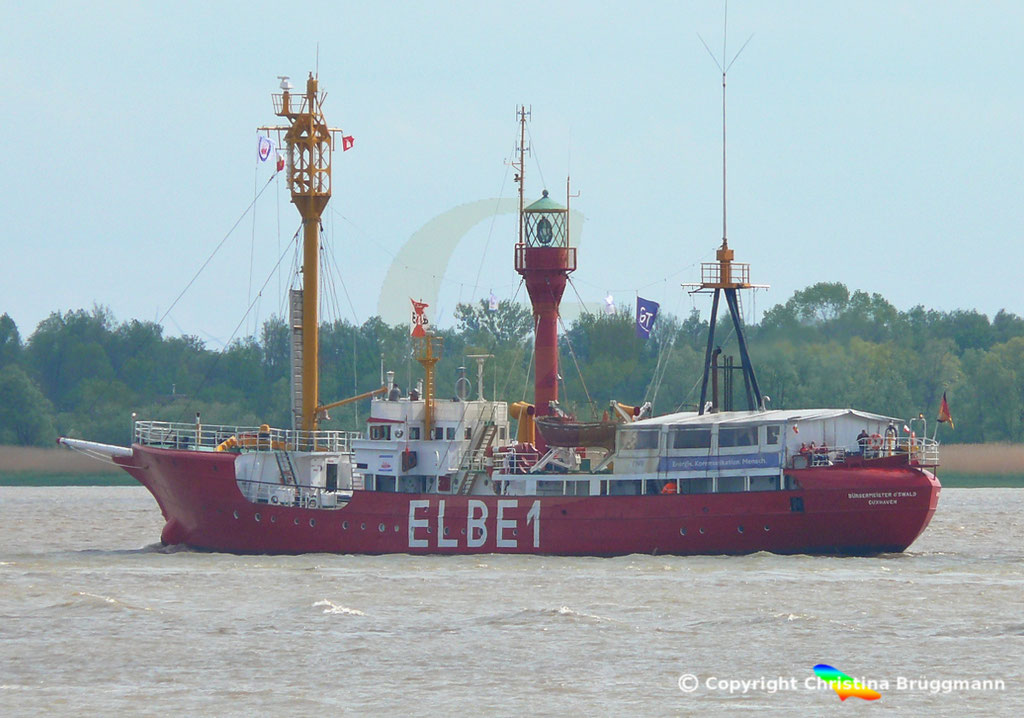 Feuerschiff BÜRGERMEISTER O´Swald II (Elbe 1) 09.05.2019 / BILD 4