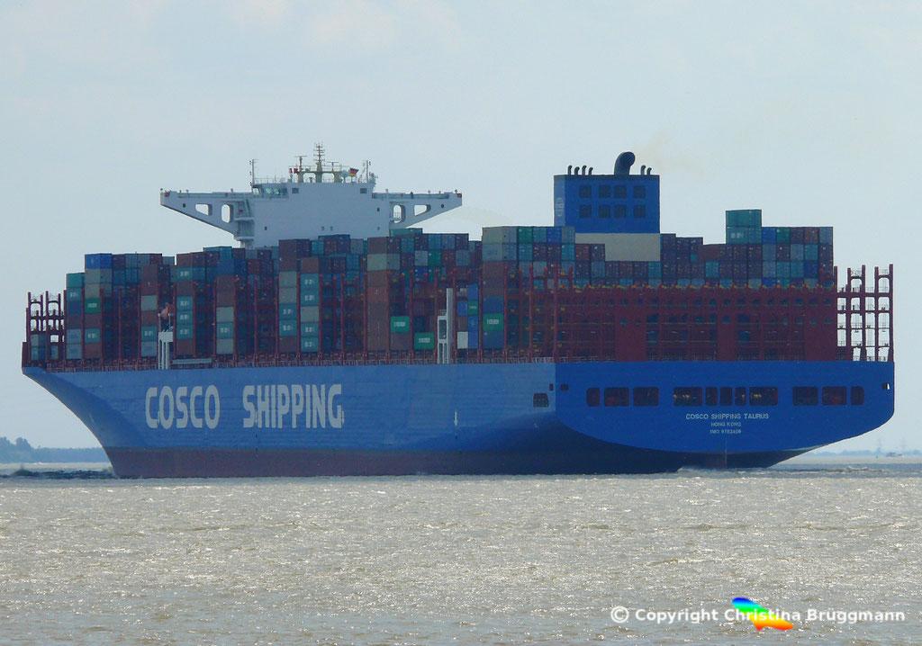 Containerschiff COSCO SHIPPING TAURUS, 25.05.2018, BILD 6
