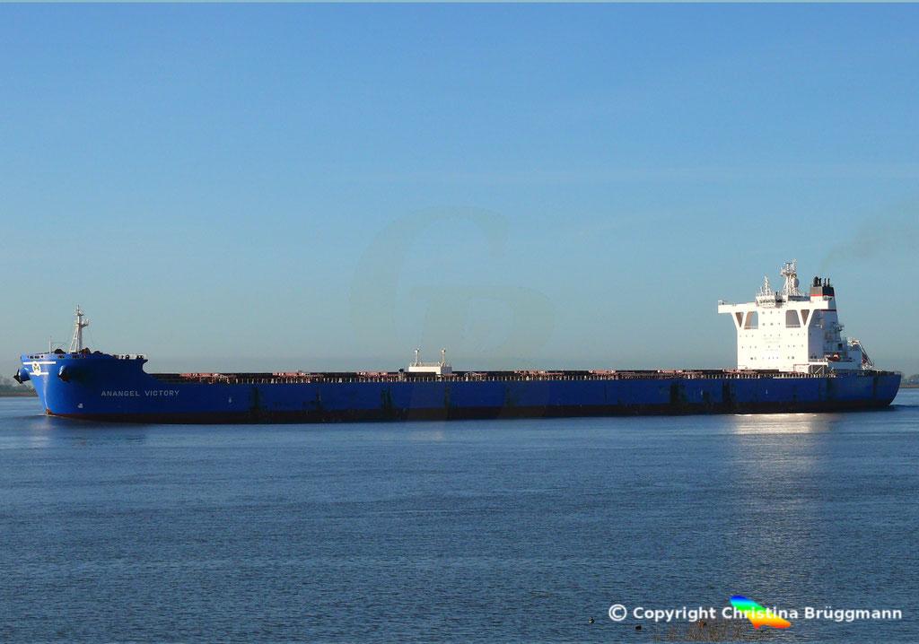 Bulk Carrier ANANGEL VICTORY, Elbe 03.01.2019, BILD 4