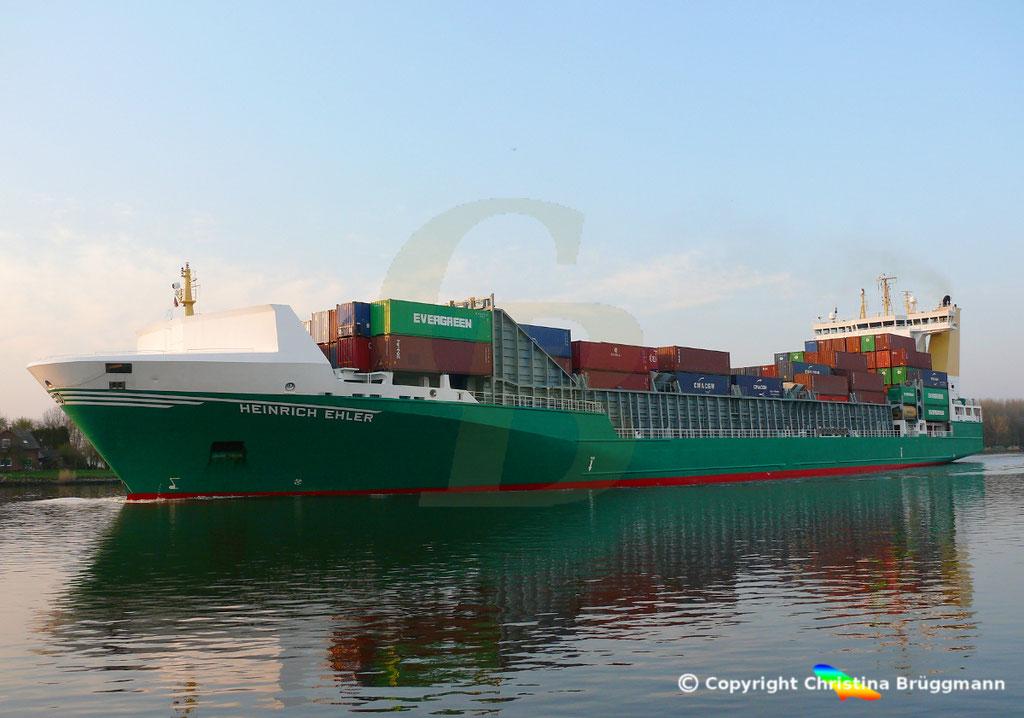 Containerschiff HEINRICH EHLER, NOK 07.04.2019, Sietas TYP 178,  BILD 4