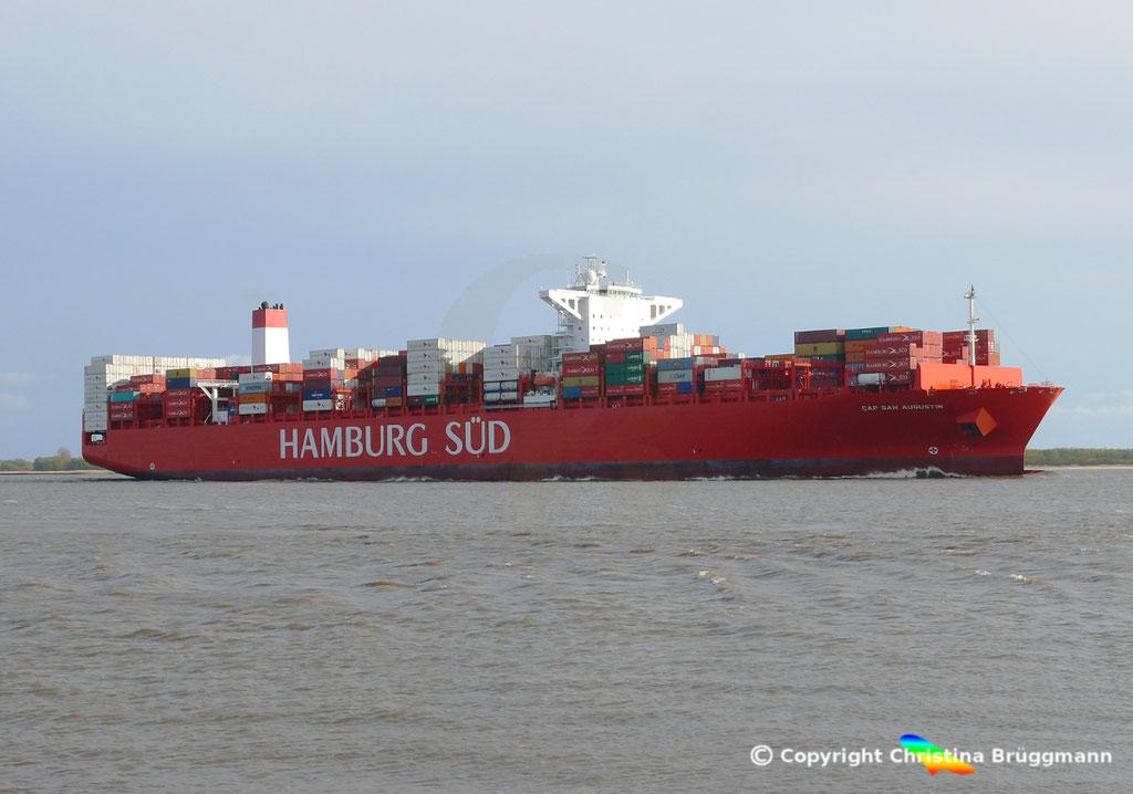CAP SAN AUGUSTIN auf der Elbe 27.04.2015, BILD 4