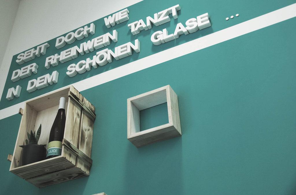 Innenarchitektur Rheinwein Event GmbH Büro, Mainz
