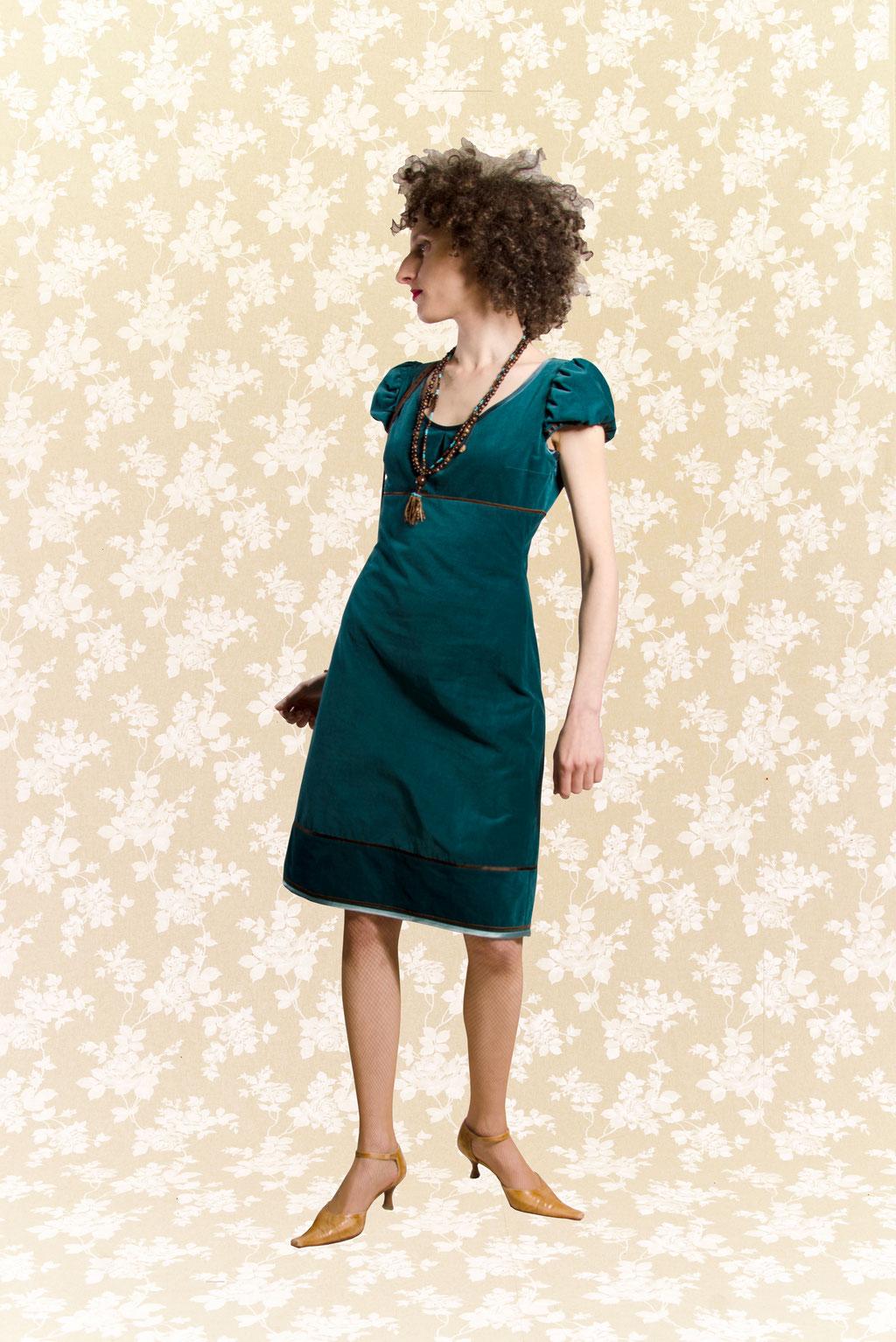 Kleid BIO-Aveline aus Bio-Baumwolle kbA, Feincord