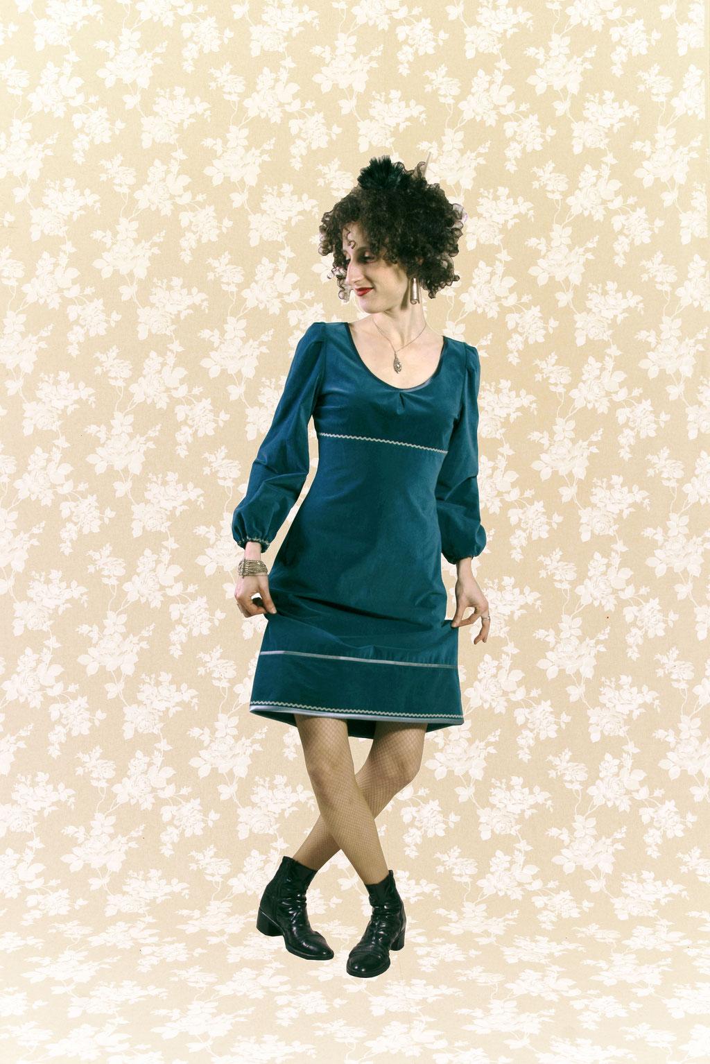 Kleid BIO-Briana aus Bio-Baumwolle kbA, Feincord