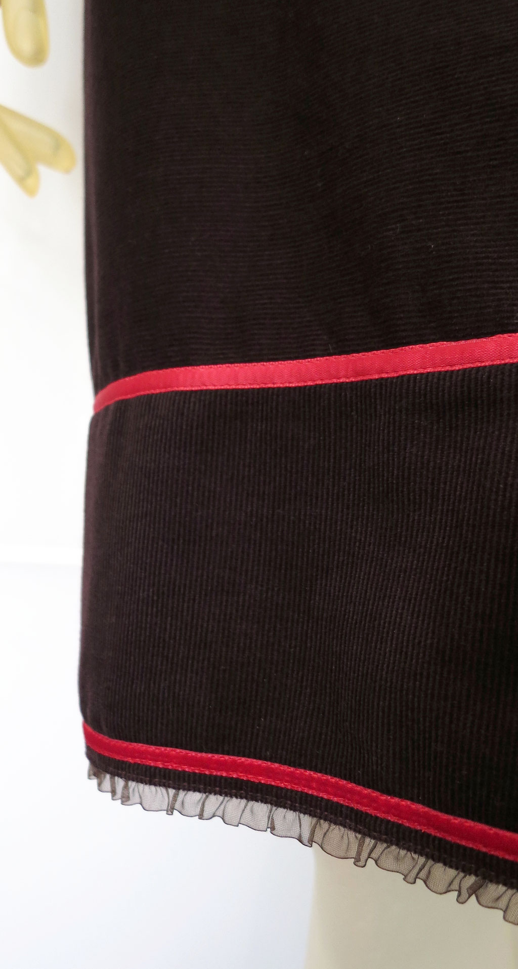 Kleid BIO-Alienor aus Bio-Baumwolle kbA, Feincord