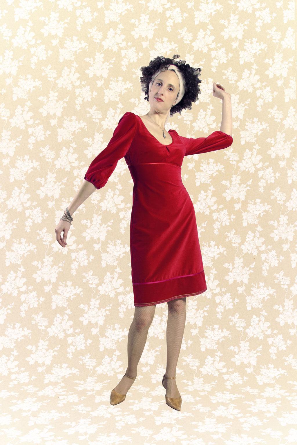 Kleid BIO-Aislinn aus Bio-Baumwolle kbA, Feincord