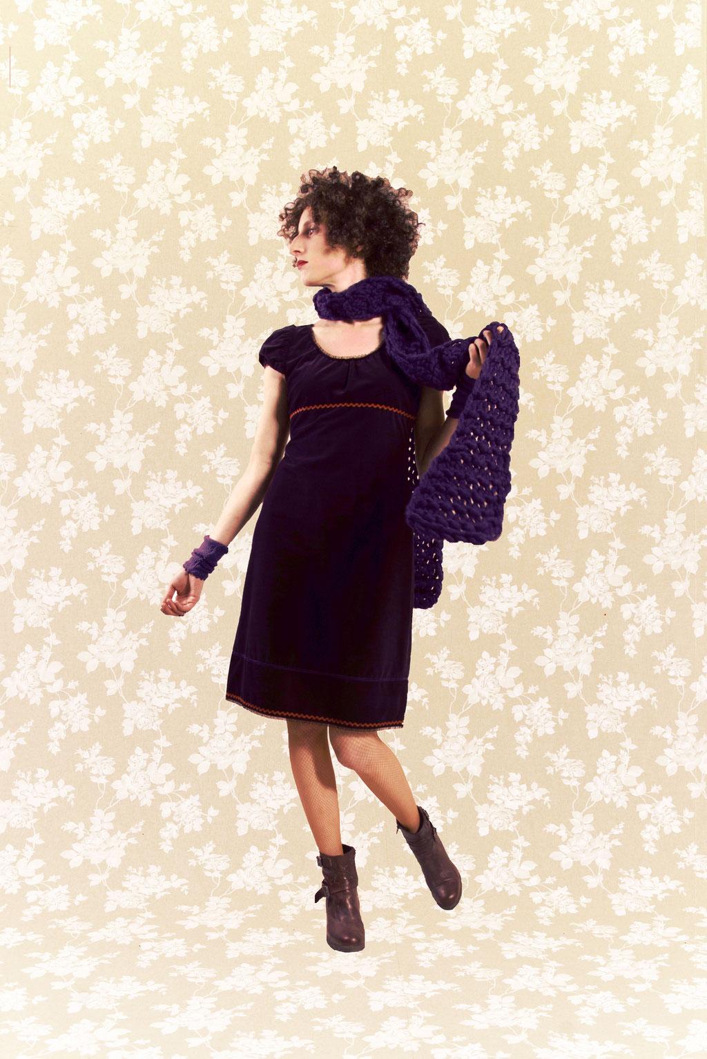 Kleid BIO-Gautzelin aus Bio-Baumwolle kbA, Feincord