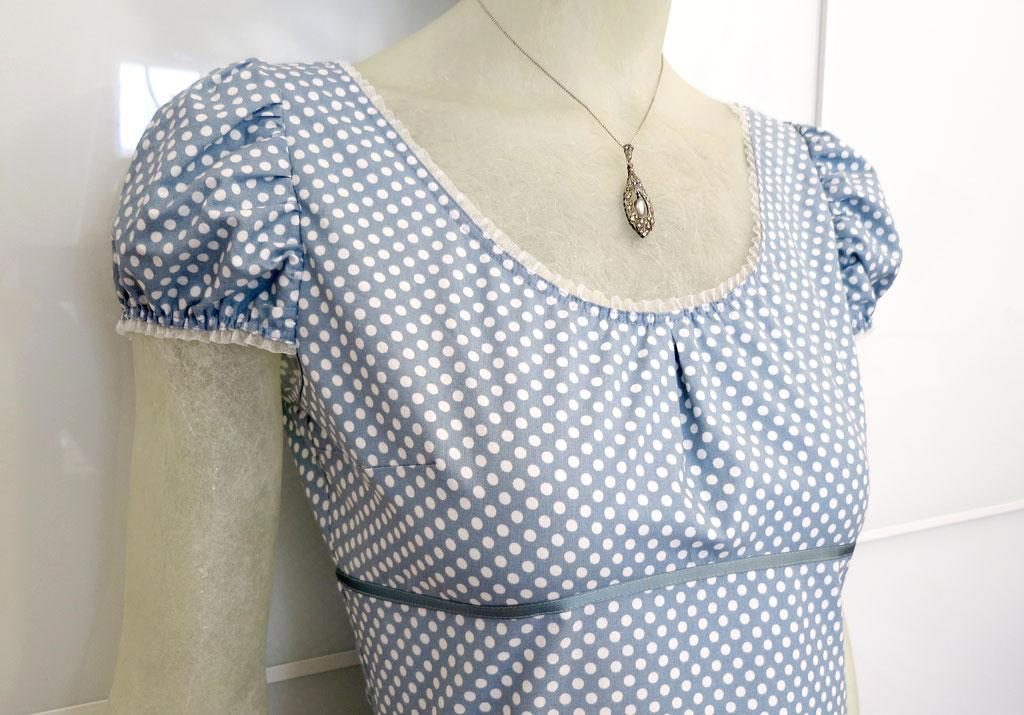 Kleid BIO-Melisende aus Bio-Baumwolle kbA, Fein-Popeline