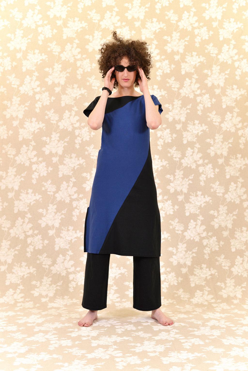 Kleid BIO-Maiko + Hose BIO-Leora: Bio-Baumwolle, Jersey