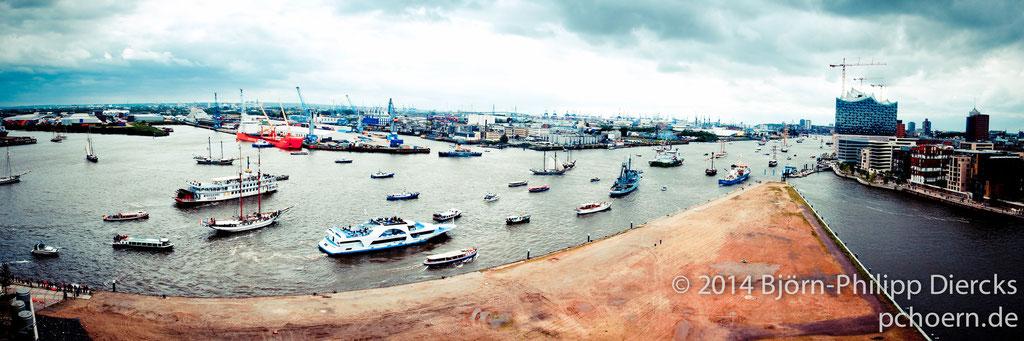 Auslaufparade Hafengeburtstag
