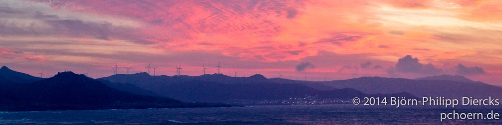 Sonnenuntergang - Spanien
