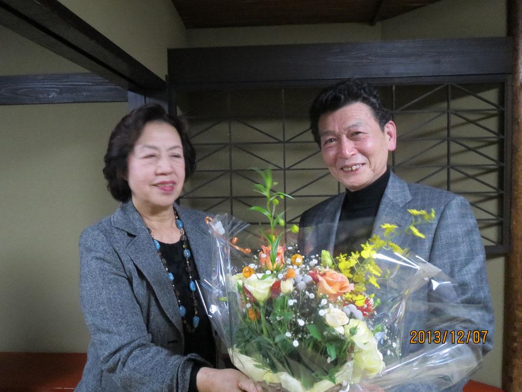 進さん定年祝い 2013