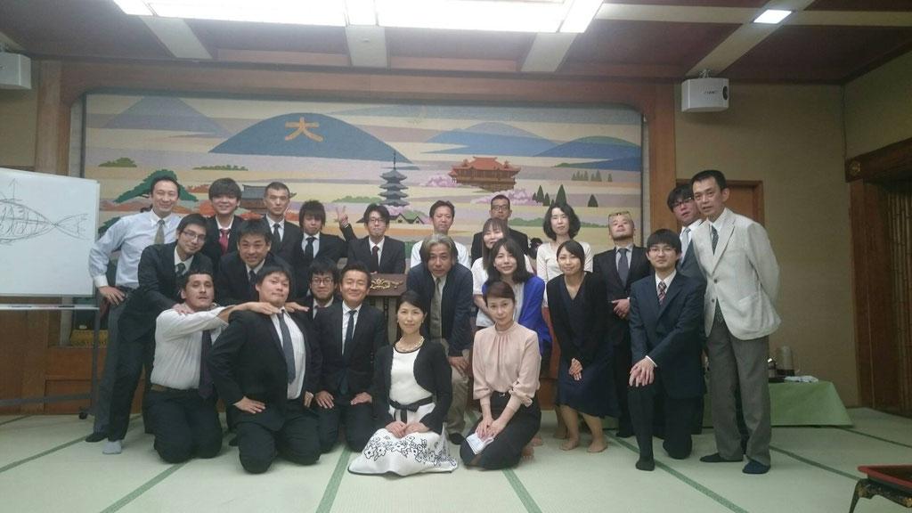 藤谷みわさんを講師に和食テーブルマナー講座 石長松菊園