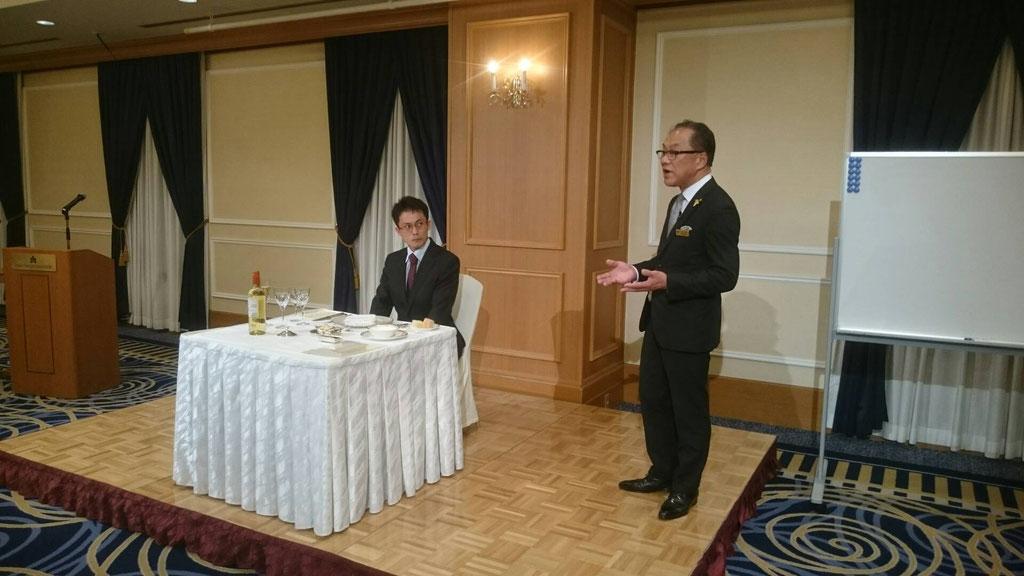 ホテル日航プリンセス 総支配人主催テーブルマナー講座