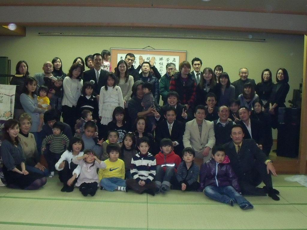 2012家族新年会