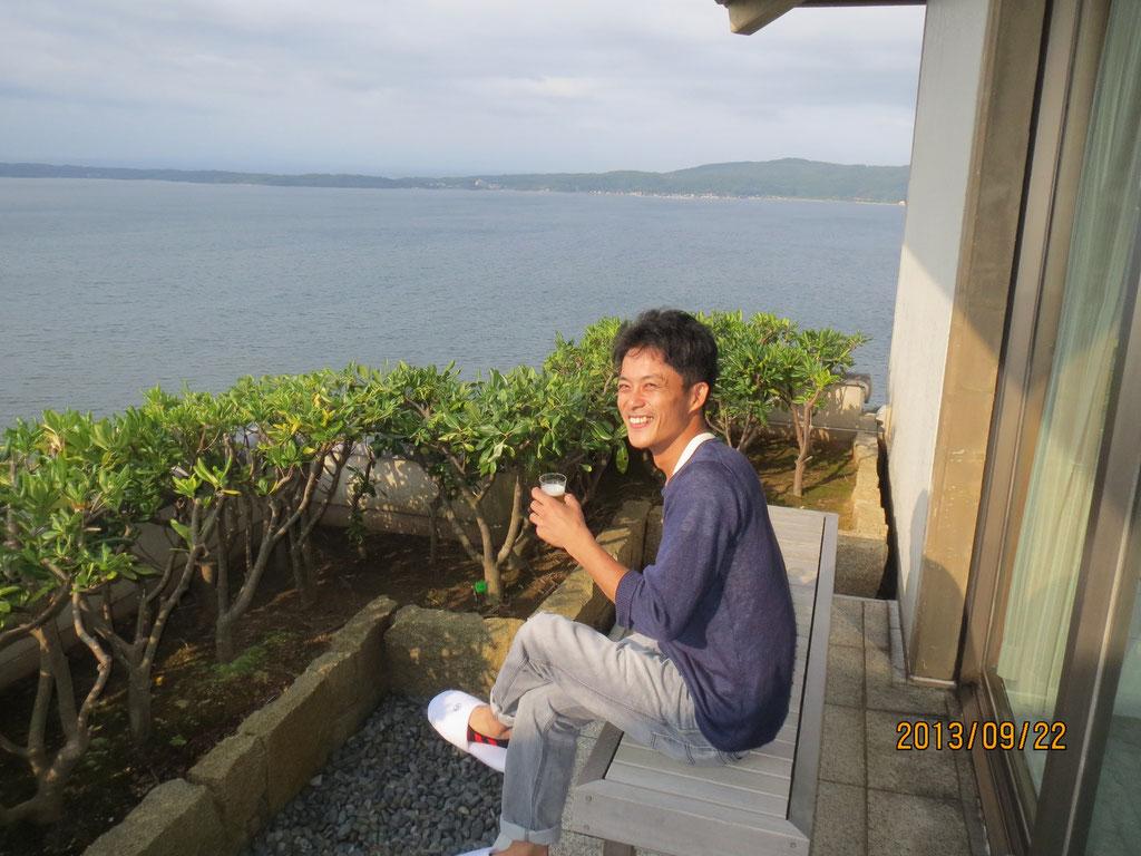 加賀屋天遊で鈴木さん