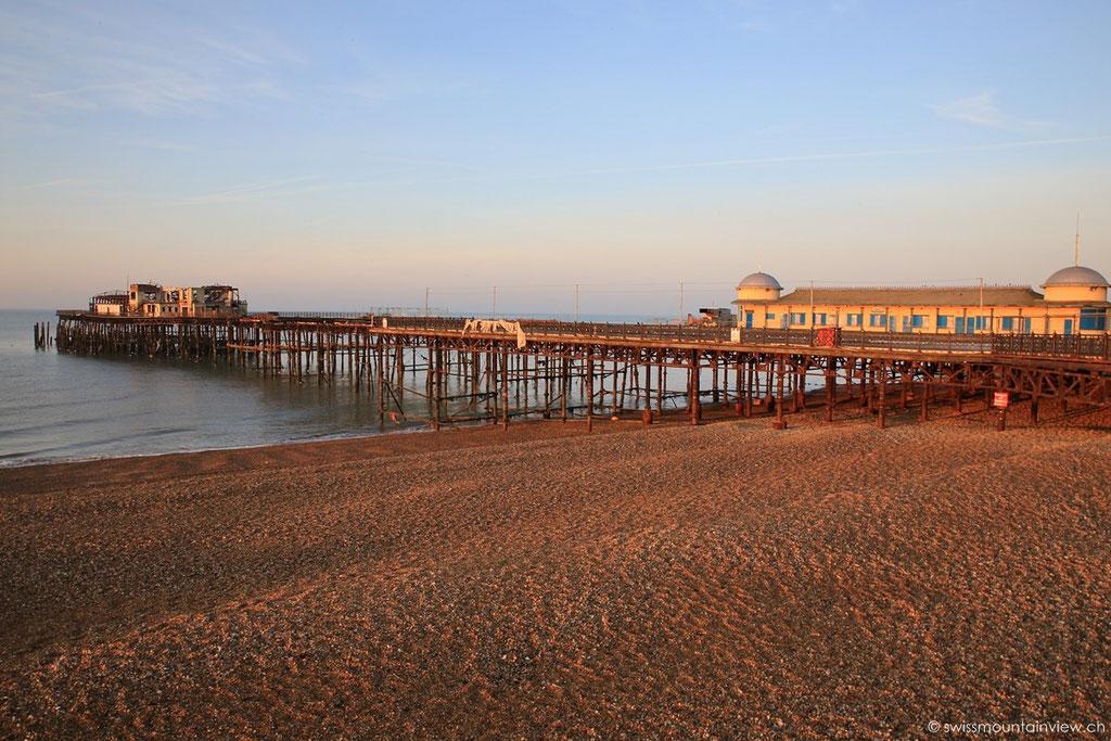Hastings Pier - 2010 abgebrannt