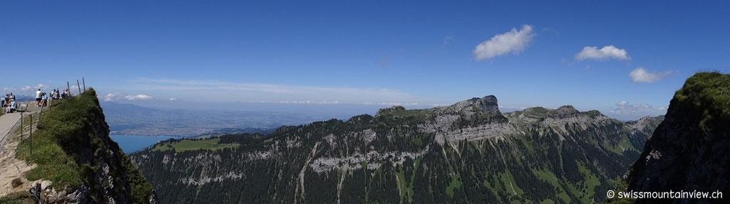 hinauf auf die 1963 Meter.