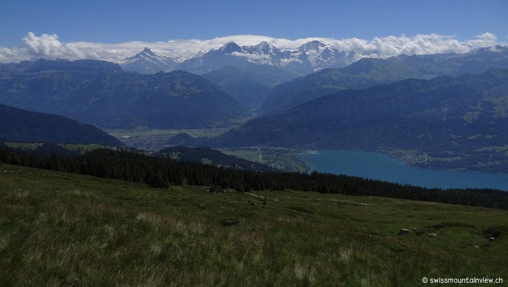 Blick zu Eiger - Mönch und Jungfrau
