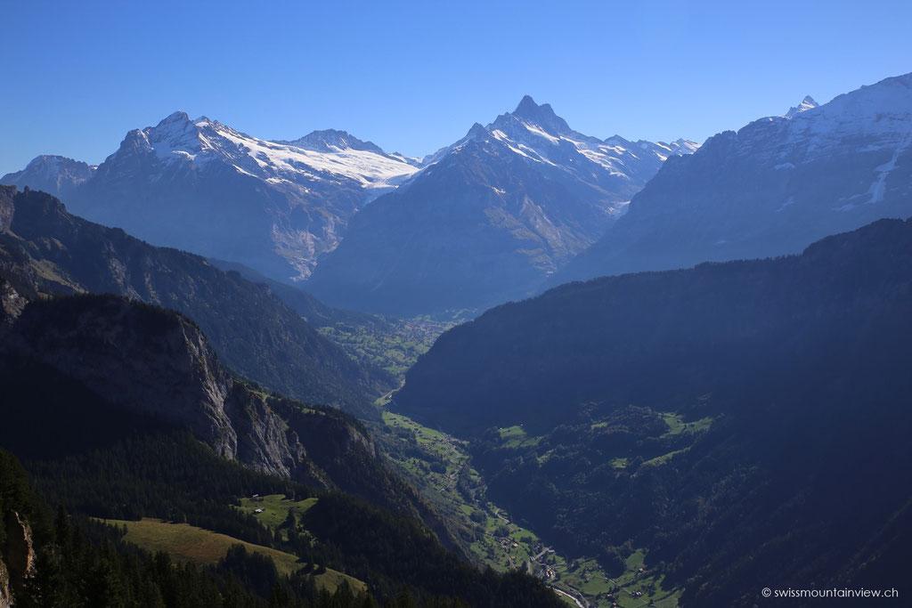 Blick Richtung Grindelwald.