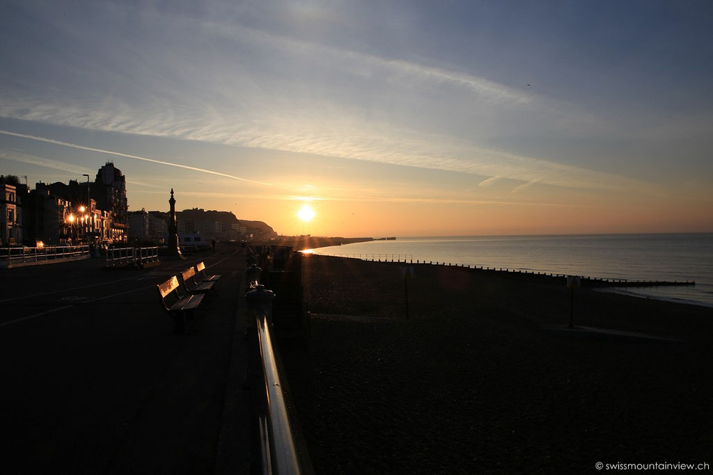 Sunrise in Hastings