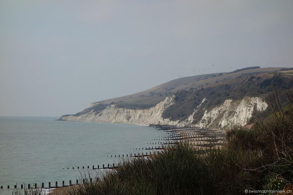 Eastbourne Richtung Beachy Head