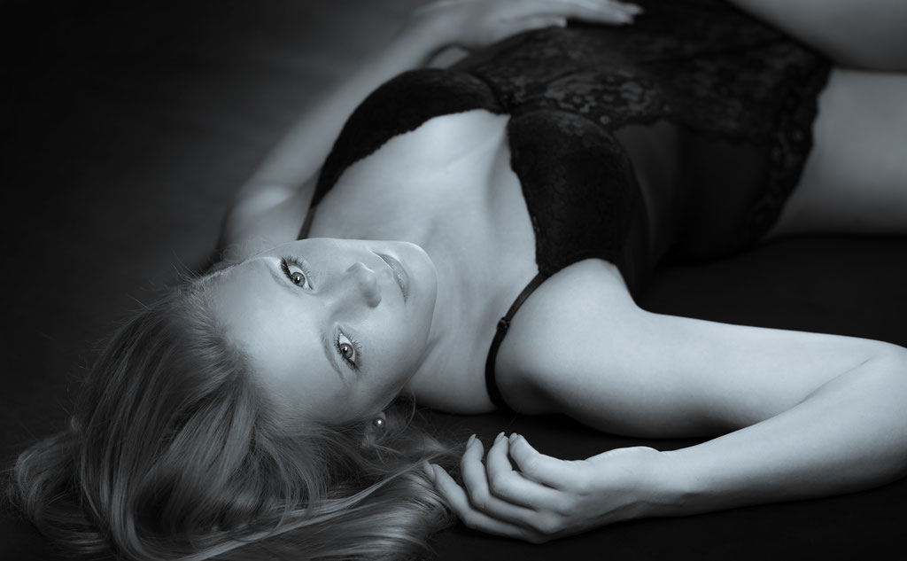 Dessous-Shooting im Fotostudio