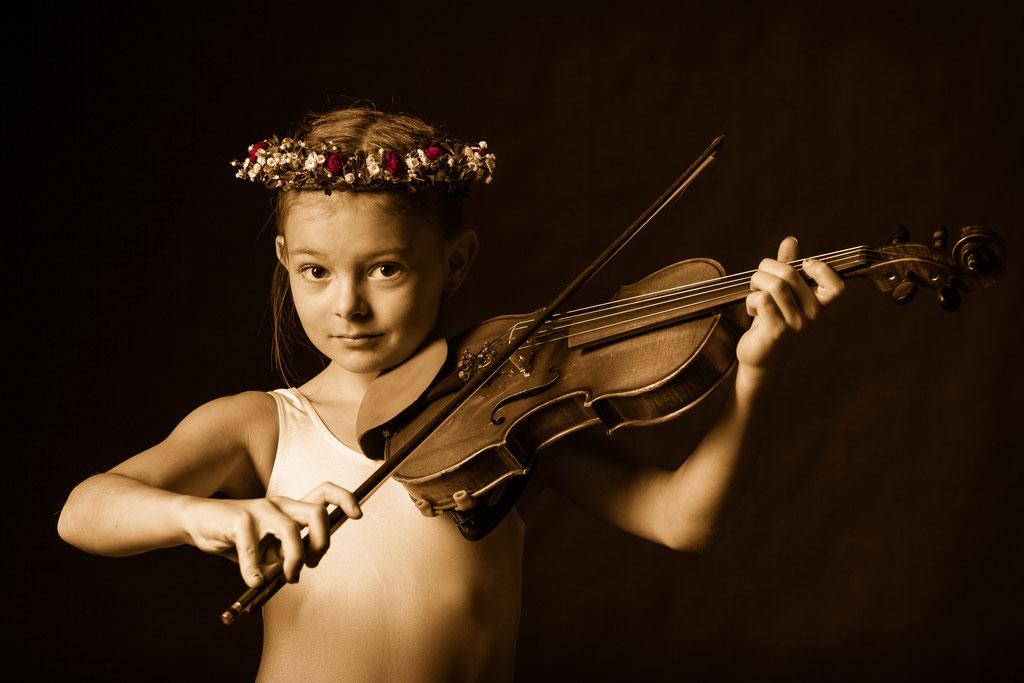 Kinderfoto im Fotostudio