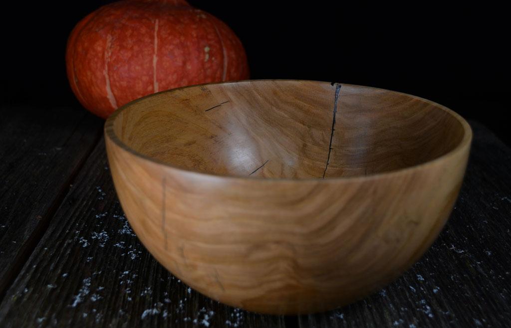 Holzschale Holzschüssel Kirsche Woodbowl Cherrywood