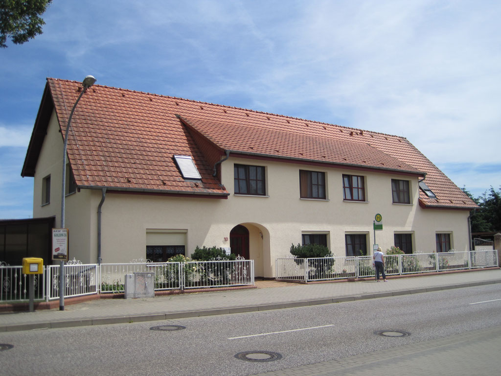 Ruhesitz Golzow Haupteingang