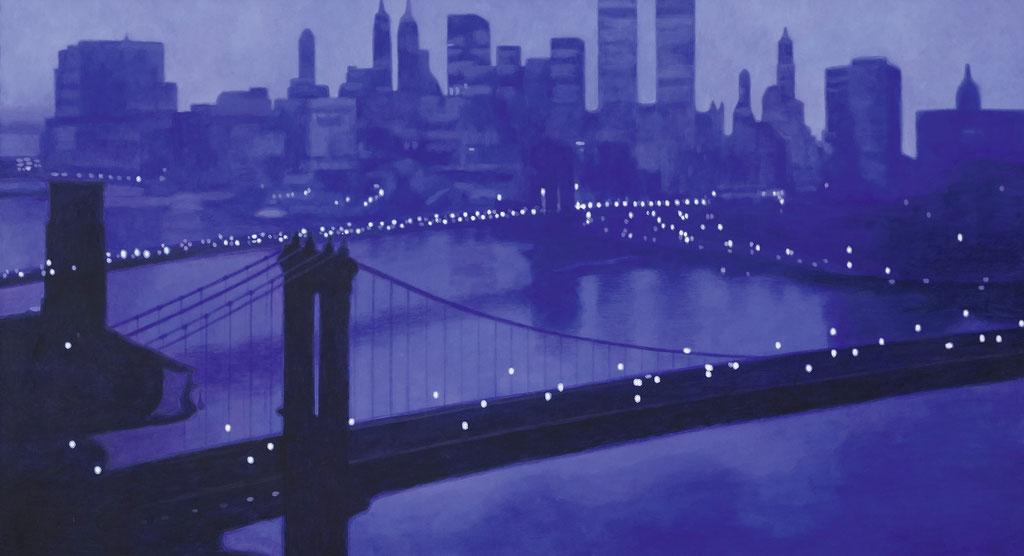 Brooklyn-Bridge | 2019 | 80 x 145 cm | Acryl auf Leinwand