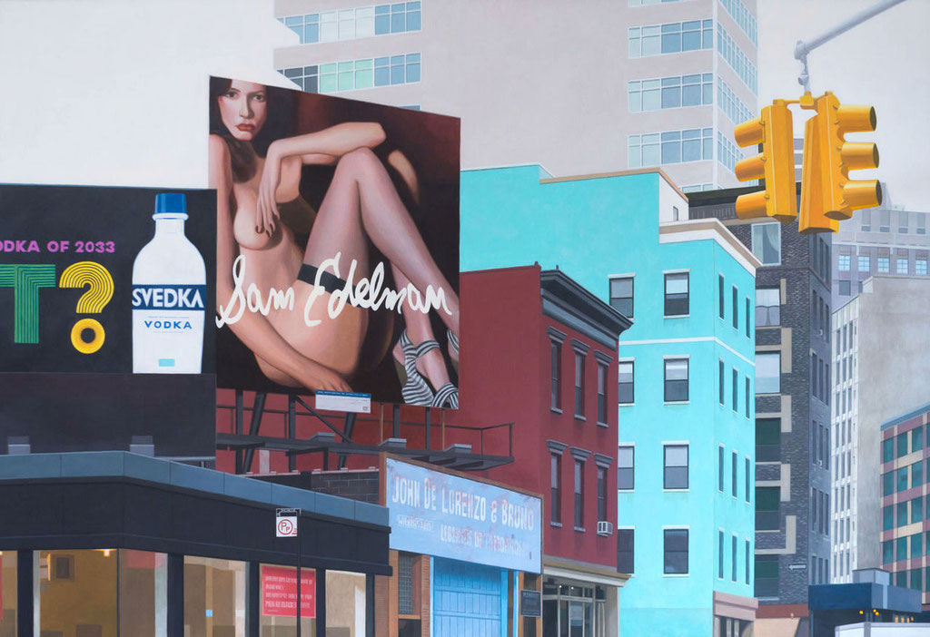 Sam Edelman | 2016 | 130 x 190 cm | Acryl auf Baumwolle