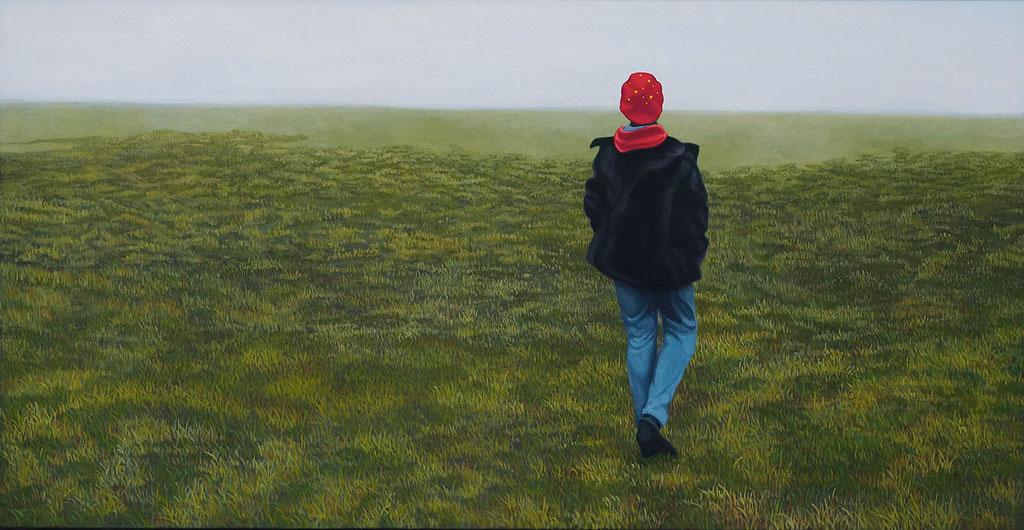 Eva | 2018 | 80 x 155 cm | Acryl auf Leinwand