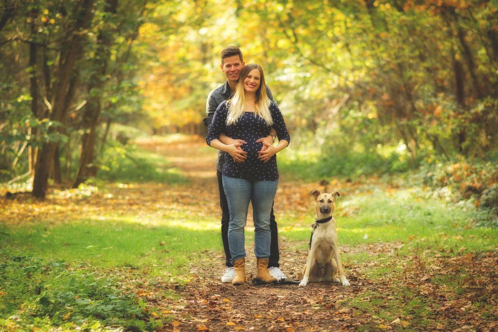 Schwangerschaftfotografie Fotografie Herbst