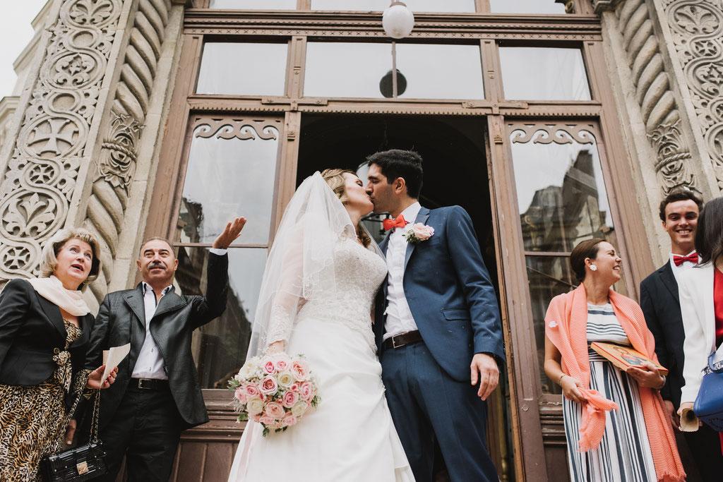 франко-русская свадьба в Париже