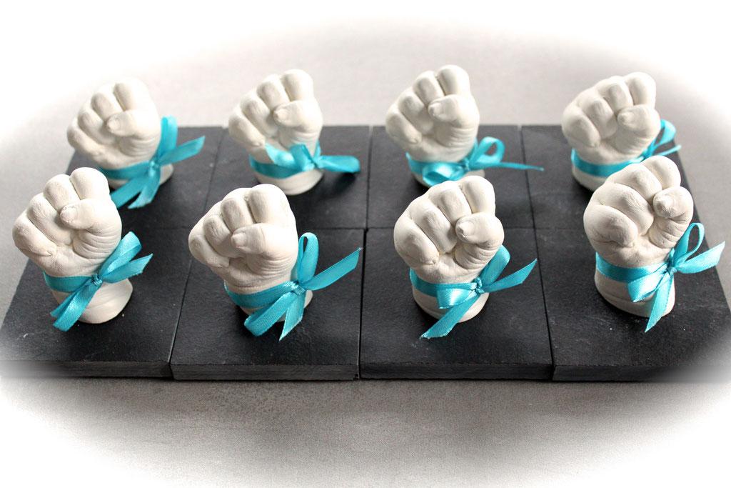 3D Babyhände für eine Taufe