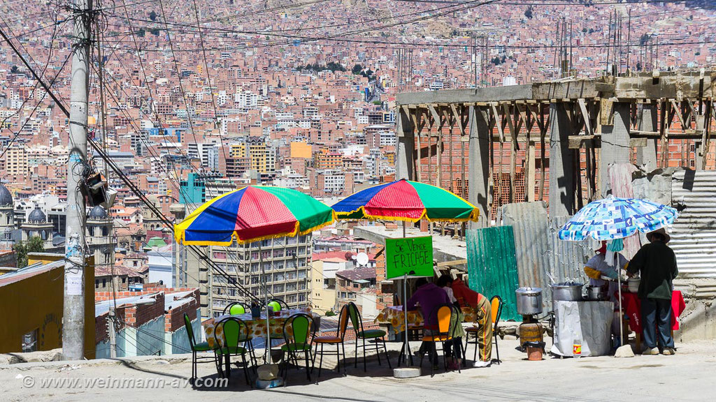 El Alto, Imbiß