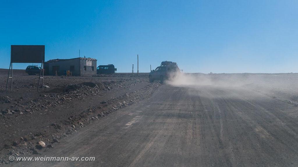 Grenzposten nach Chile