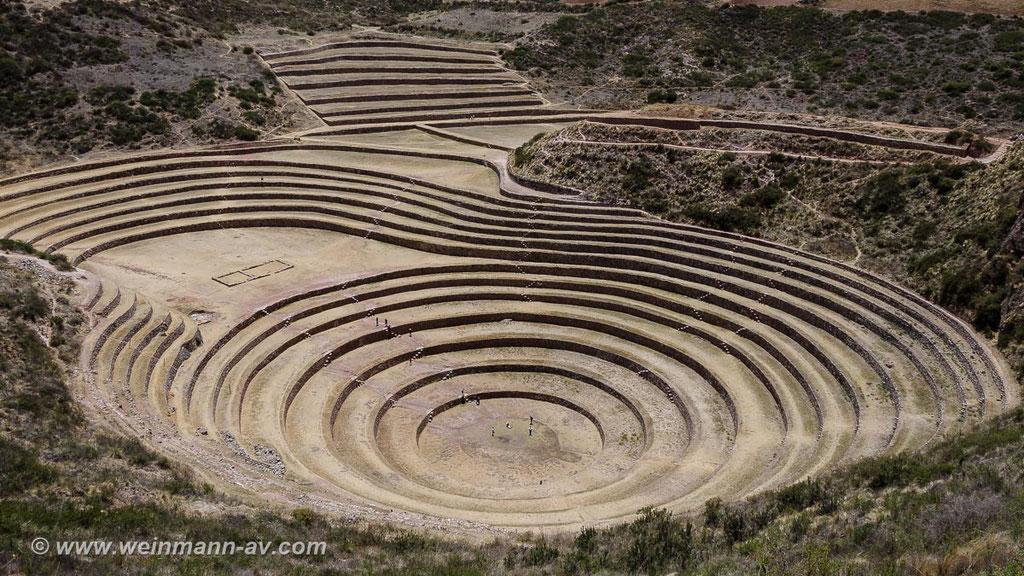 Moray, landwirtschaftliche Forschungsstätte der Inka