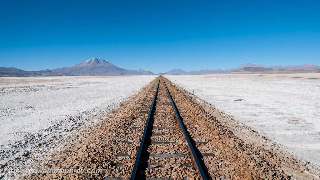 Bahnstrecke nach Chile