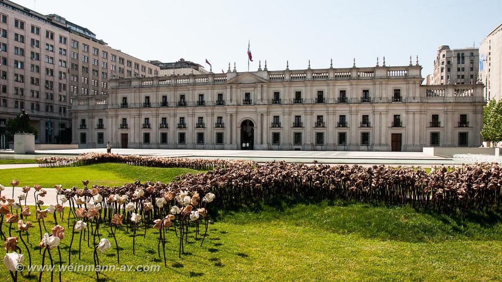 Santiago de Chile, Präsidentenpalast