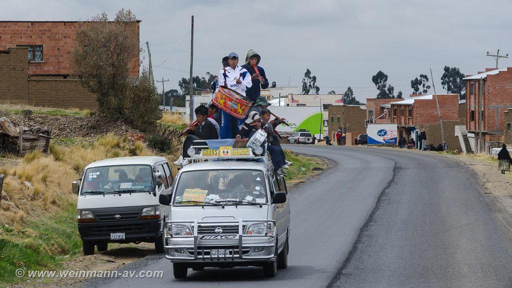 Auf dem Weg nach La Paz