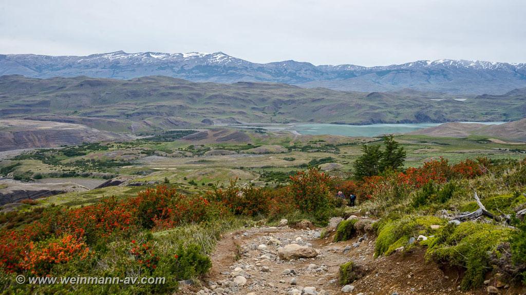Trail zu den Torres, Torres del Paine NP, Chile