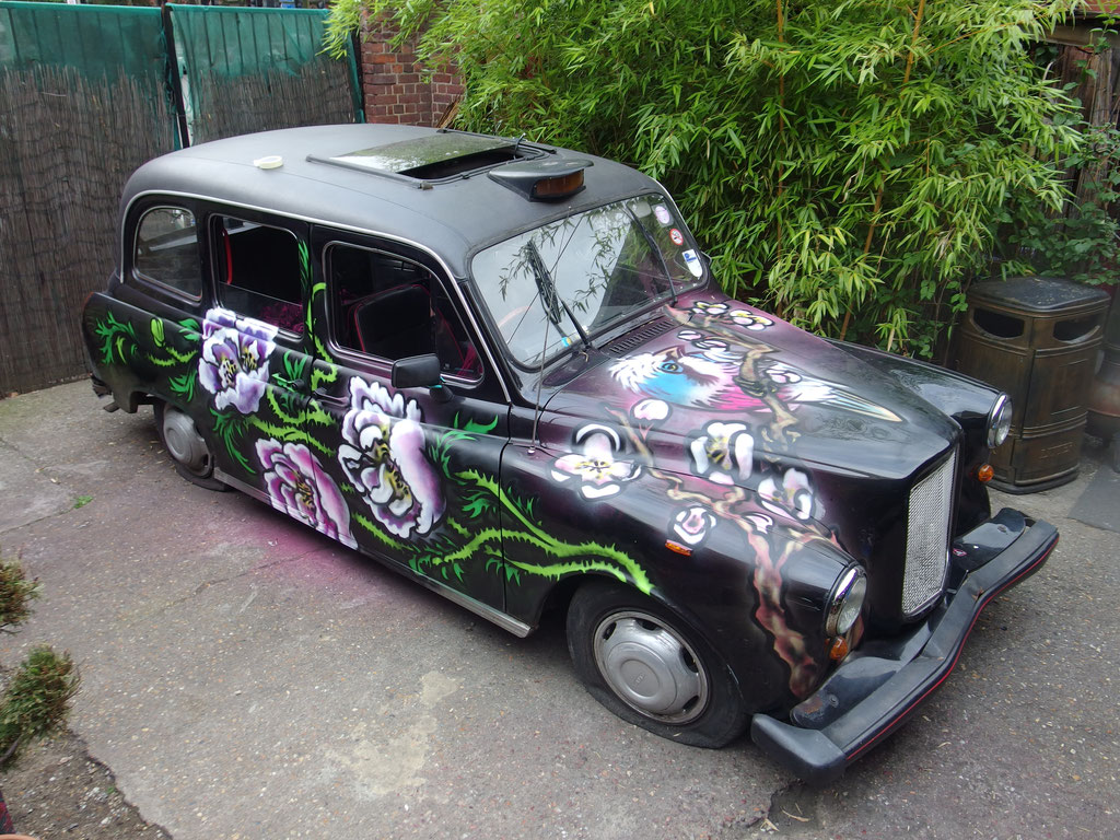 Magic Garden Taxi, Battersea, 2017