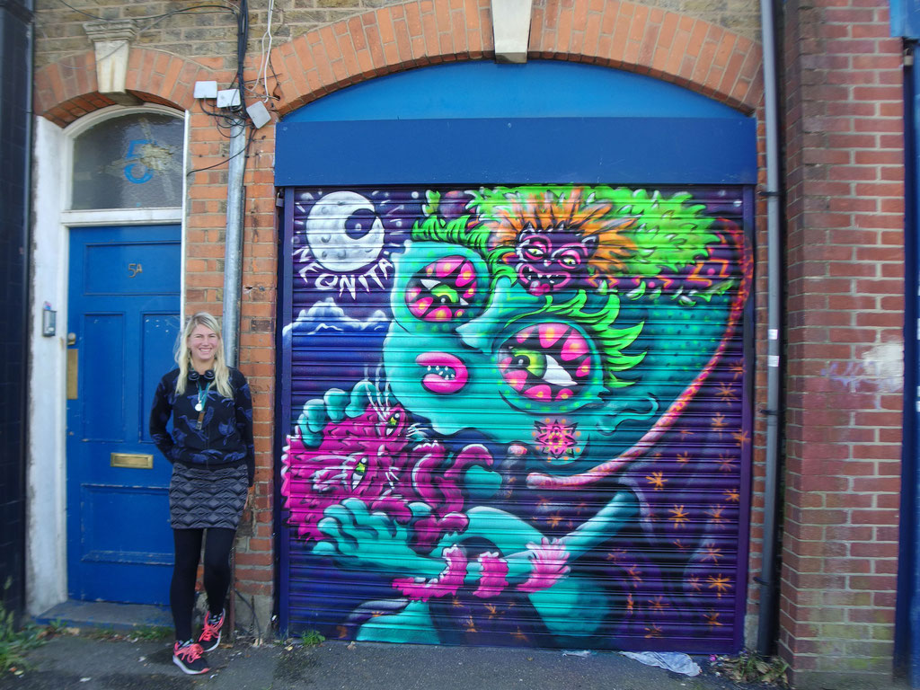 Aztec Alien, Brockley, London, 2017