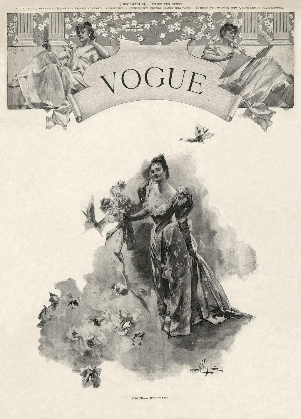 """Vogue"" 1892"