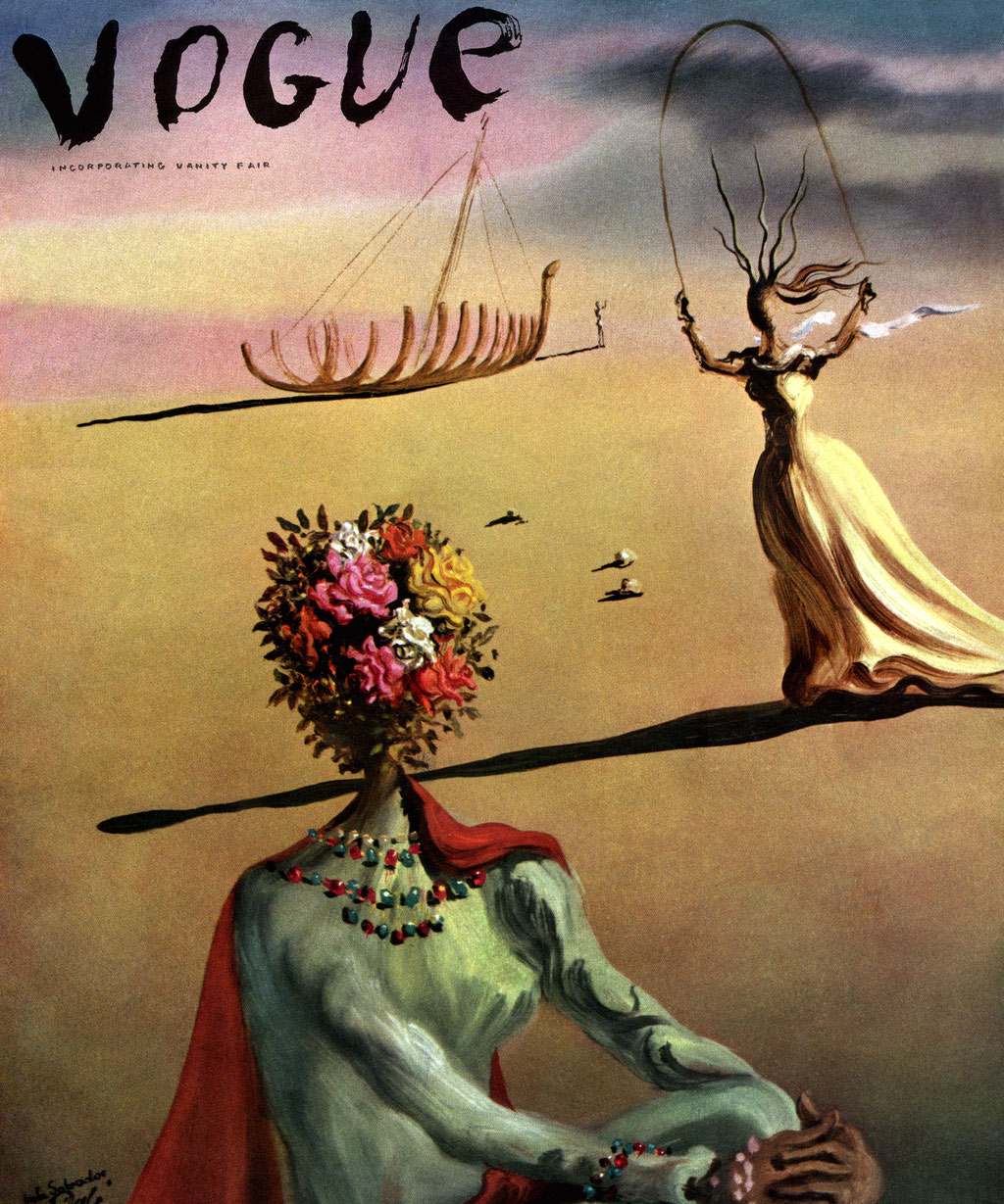 """""""Vogue""""  Dalí 1939"""