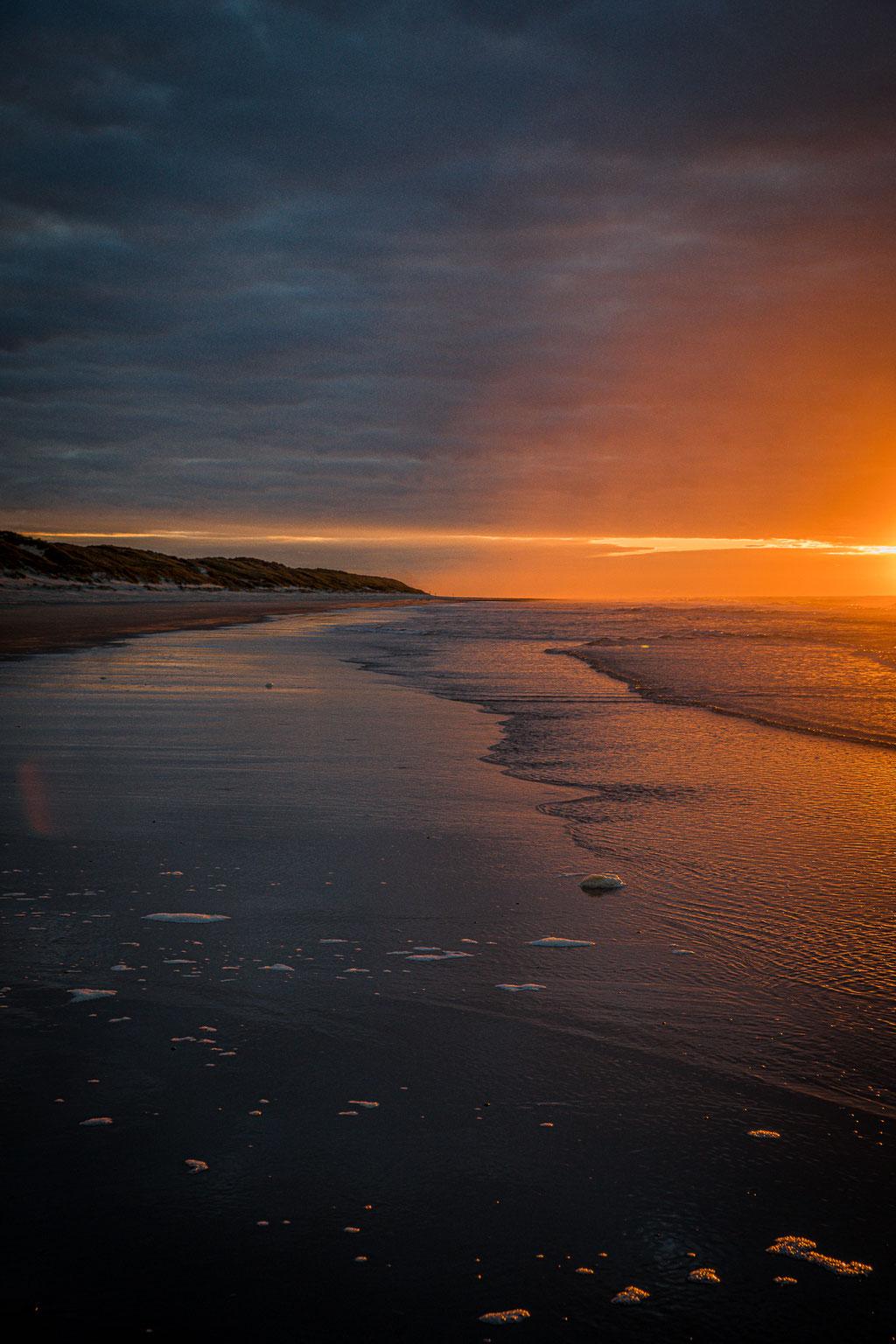 Oktober sunset Vlieland III