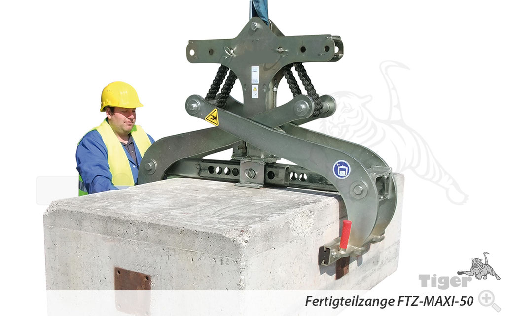 Fertigteilzange FTZ-MAXI-50