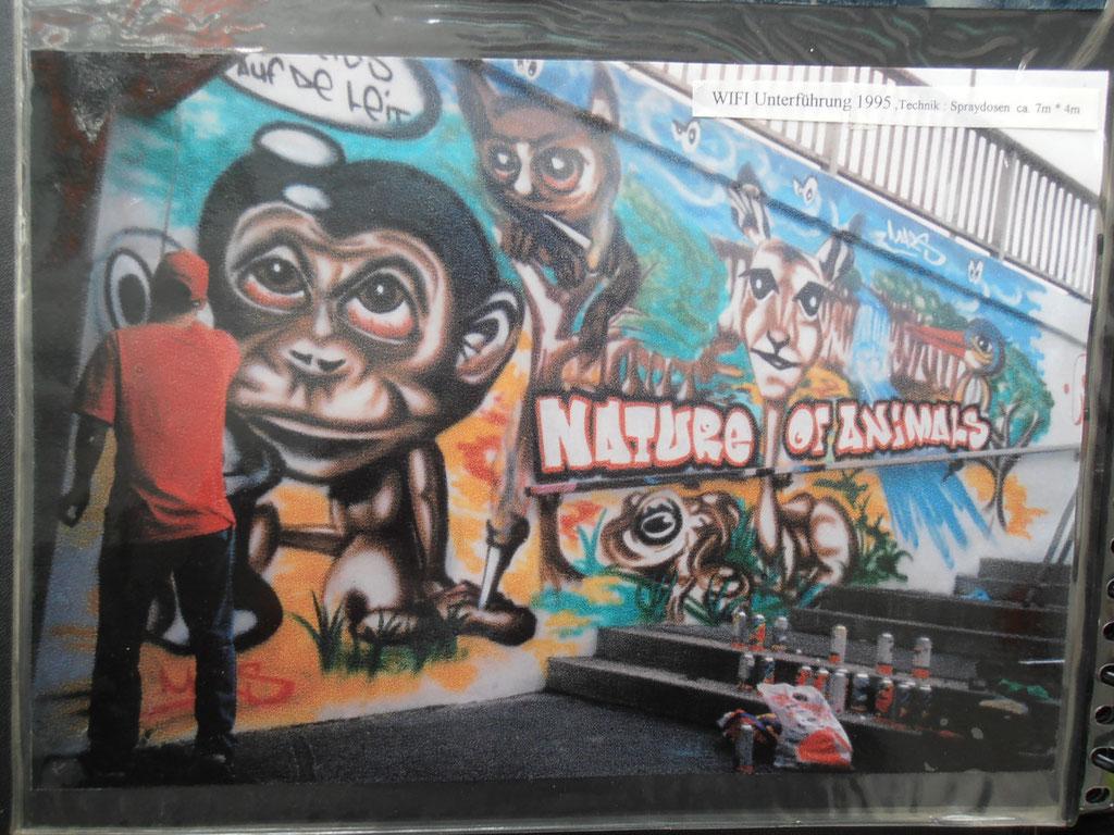 SCHEISS´ AUF DE LEIT / GRAFFITI 1995